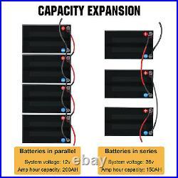 10Ah 20Ah 30Ah 50Ah 100Ah 12V Lithium Battery LiFePO4 Solar Battery Golf Trolley