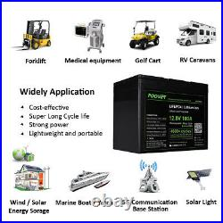 12v 20Ah 35Ah 100Ah Lithium Iron Phosphate Lifepo4 Batteries for Golf TROLLEY