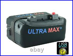 12v Motocaddy 18-27 Hole Lithium Golf Battery Fits All Electric Golf Trolley Usb