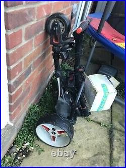 2016 Motocaddy S1 Electric Golf Trolley / Lithium battery, charger / Very Good