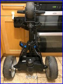 2017 MotoCaddy S3 Pro Electric Golf Trolley, 18h Lithium Battery, Accessory Pack