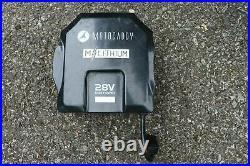 2018 Motocaddy M1 Electric Golf Trolley, 36 Hole Lithium Battery, brolly holder