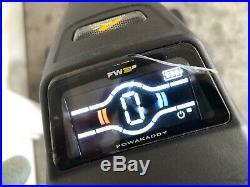 2018 Powakaddy FW3s Black Electric Trolley 18 Hole Lithium Battery! Bargain
