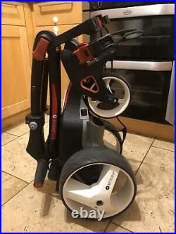 2019 Motocaddy M1 Electric Golf Trolley, 36 hold Lithium Battery, accessory pack