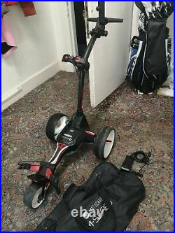 2019 Motocaddy M1 Electric Golf Trolley, Lithium Battery, extras, very good