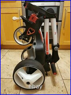 2019 Motocaddy M1 Pro Electric Golf Trolley, Lithium Battery + Extras, Excellent