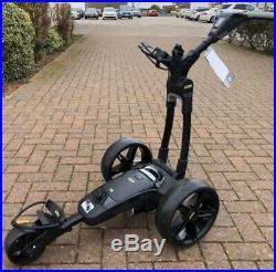 2020 Powakaddy FX3 Electric Golf Trolley Black Frame 18 Hole Lithium Battery