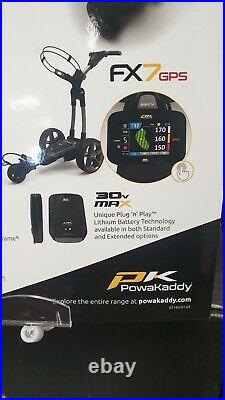 2020 PowrKaddy CT6 GPS Electric Trolley 18 Hole Lithium Battery