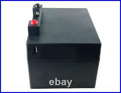 36 Hole Lithium Golf Trolley Battery 12v 22ah For Powakaddy With Usb Port