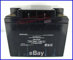 36 Hole Lithium Golf Trolley Battery 12v 40ah For Hillbilly 30ah 32ah 33ah 35ah