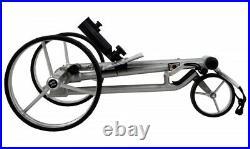 ANGEBOT! Aluminium Quickfold Lithium Elektro Golftrolley Schwarz. Made for Tour