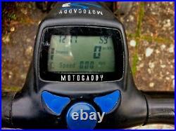 BARGAIN S3 Motocaddy Golf Trolley Cart & Lithium battery