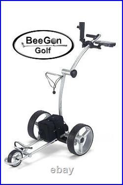 BeeGon Elektro Golf Trolley GT X300 Pro Lithium Silver Edition