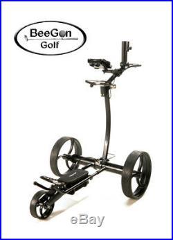 BeeGon Elektro Golf Trolley GT X600 Pro Black Edition 25,2V/11AH Lithium