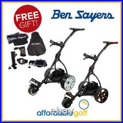 Ben Sayers Lithium Battery Electric Golf Trolley + Free Gift Worth £150