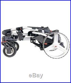 Big Max Hunter Quad 4 Wheel Lithium Electric Golf Trolley +free £149 Golf Bag