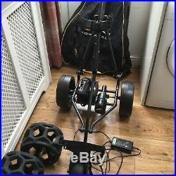 Electric Golf Trolley With Extras Powakaddy With Lithium Battery