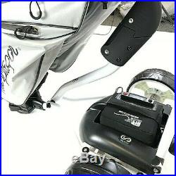 Electric Lithium Golf Trolley including Lithium Battery