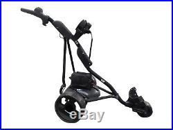 Electric Powered Golf Trolley with LITHIUM ReLION Battery, 18+ Hole BLACK