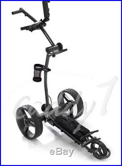 Elektro Golf Trolley CADDYONE 700 Darkgrey mit Lithium-Akku