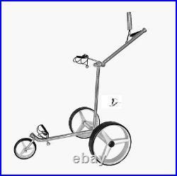 Elektro Golf Trolley Lithium-Batterie, Edelstahl, (42mm Motoren) Speed LE deluxe