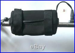 Elektro Golf Trolley Lithium-Batterie, Edelstahl, Speed SE Delux Brake