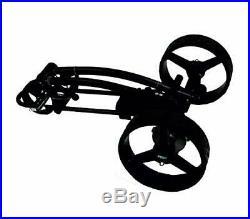 Elektro Golf Trolley PGE 3.1, LITHIUM AKKU12V20Ah, Neues Design, USB, schwarz