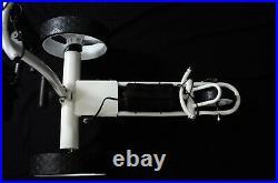Elektro Golftrolley mit Lithium-Batterie Birdie brake weiß Aluminium