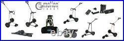Emotion Aluminium Elektrotrolley 3-Rad Silber Sensorgriff Lithium-Mangan-Akku