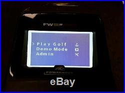 Ex Rental Powakaddy Fw5 Gps Electric Trolley Extended 36 Lithium Battery Vgc
