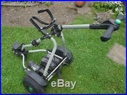 Greenhill Gts Electric Golf Trolley With Lithium 36 Hole Battery