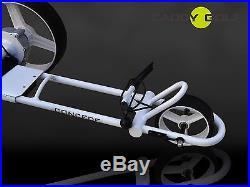 LITHIUM CADDY-GOLF concede ELEKTRO TROLLEY LED WEISS TIMER MEMORY 350W MOTOR