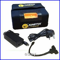 Lithium Golf Battery 18-27 Hole, 16AH, T-Bar & Charger for HillBilly Trolleys