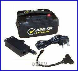 Lithium Golf Battery 18-27 Hole, 16AH, T-Bar & Charger for Motocaddy Trolleys