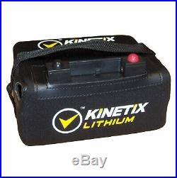 Lithium Golf Battery 18 Hole, 16AH, Case & Charger for Pro-Rider Trolley connect