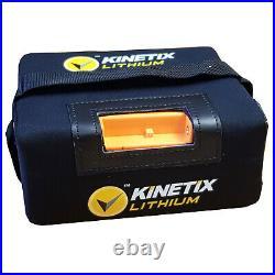 Lithium Golf Battery 27 Hole, 18AH, T-Bar & Charger for Powakaddy Trolleys