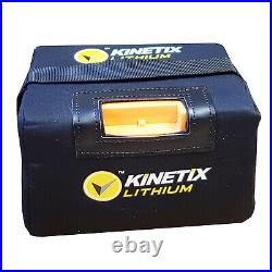 Lithium Golf Battery 36 Hole, 22AH with T-Bar & Charger for HILLBILLY Trolleys