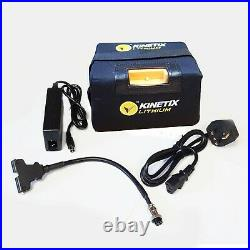 Lithium Golf Trolley Battery, 12v 18ah (27 hole) with Prorider 3 pin connector