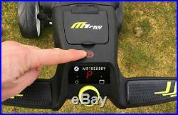 M1 Pro motorcaddy electric golf trolley 36 hole Lithium Battery