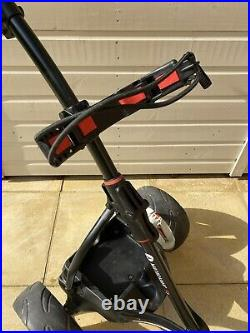 MOTOCADDY S1 ELECTRIC GOLF TROLLEY with 18-HOLE LITHIUM BATTERY & CHARGER