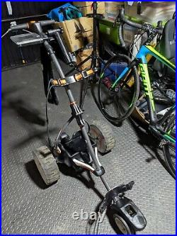 MOTOCADDY S7 REMOTE ELECTRIC GOLF TROLLEY LITHIUM BATTERY Perfect Condition