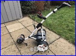 Motocaddy 2015 S1 Trolley / White / 18 Hole Lithium Battery