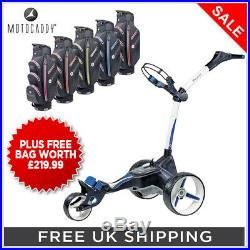 Motocaddy'2019' M5 Connect Electric Golf Trolley + Free Bag Worth £219.99