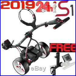 Motocaddy 2019 S1 Lithium Electric Golf Trolley Free Accessory Pack Offer