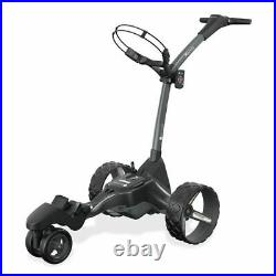 Motocaddy 2020 M7 Remote Ultra Lithium Electric Golf Trolley + Umbrella Holder