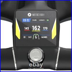 Motocaddy 2021 M3 Gps Dhc 18 Hole Lithium Electric Golf Trolley +free Gifts