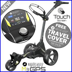 Motocaddy 2021 M3 Gps Electric Golf Trolley +18 Hole Lithium Battery +free Gifts