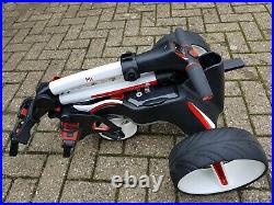 Motocaddy 22/06/2019 M1 Electric Golf Trolley Lithium Battery, Lady owned, VGC