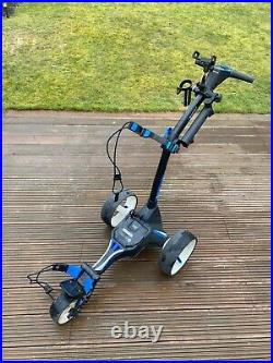 Motocaddy Electric Golf Trolley, Black/Blue, M5 Connect, Lithium Battery
