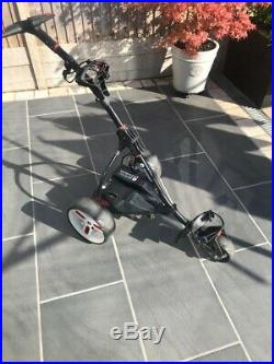 Motocaddy Electric Golf Trolley With Lithium Battery And Charger